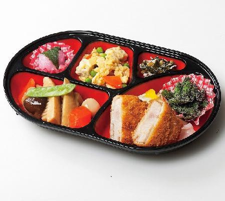 栄養しっかりメニューになります。おかずは6~7品になります。ほがらか弁当の内容で足りない方におすすめしています。