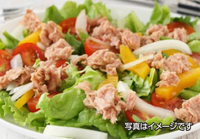 お届け曜日を選んでご利用できます。(月)コーンサラダ (火)大根サラダ (水)オニオンサラダ(木)ツナサラダ (金)ミックスサラダ※ドレッシングはついておりません。