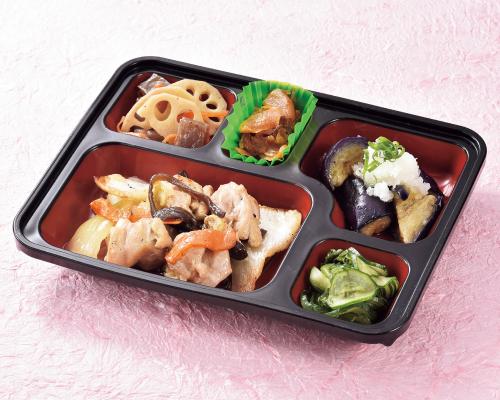 利用しやすい価格ながら、主菜選択可能!